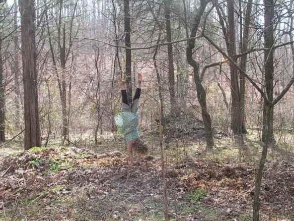 lulah handstand