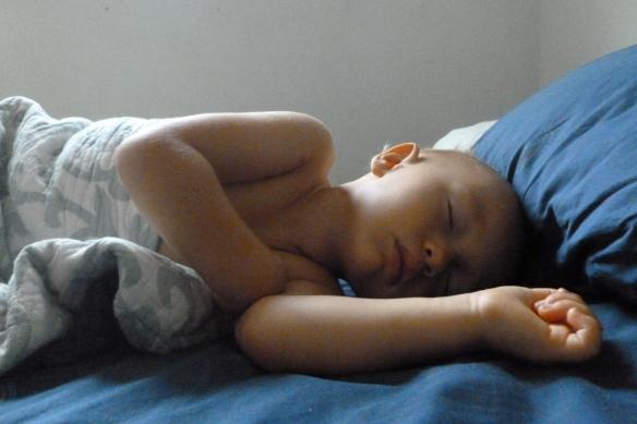 levon sleeping