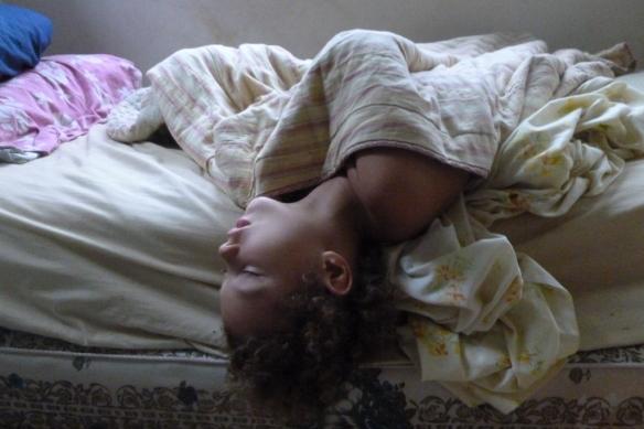 lulah sleeping