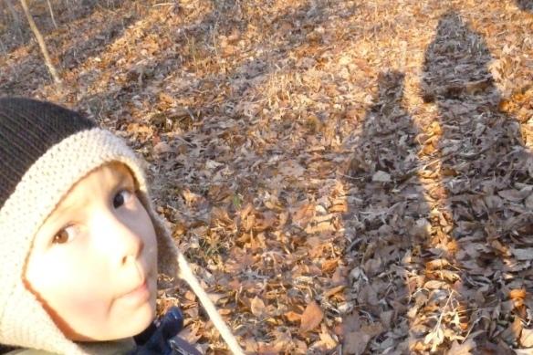 levon in woods