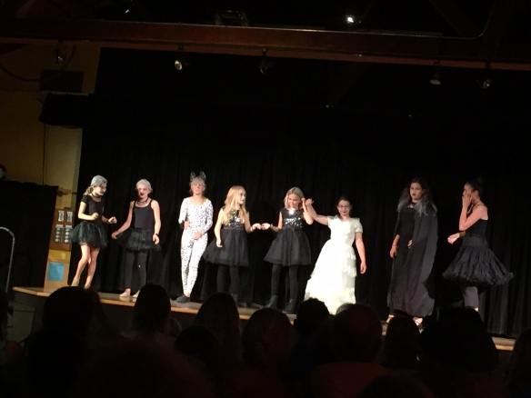 the final bow for the Addams Family ghost chorus