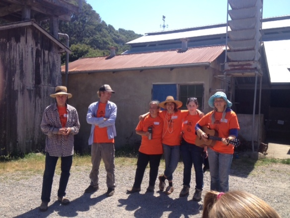 proud to be part of this farm camp  collaboration between mann family farm and marin country day school