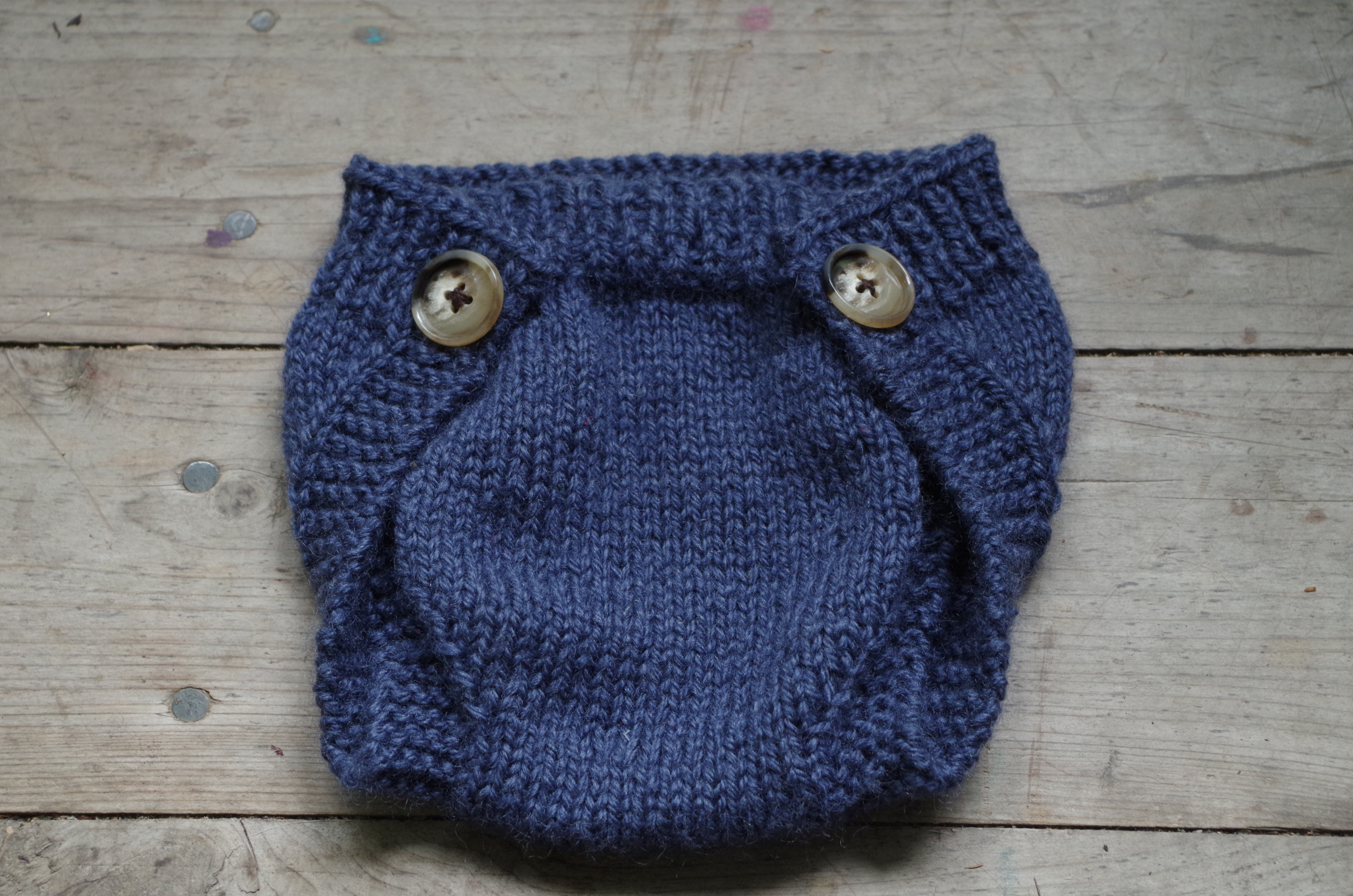 Funky Knitted Nappy Cover Pattern Vignette - Blanket Knitting ...