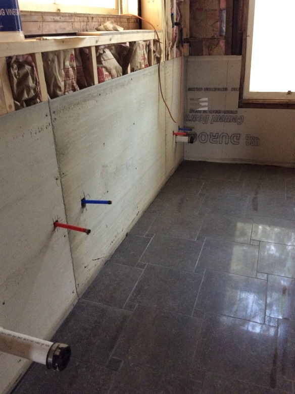 tiling was tedious but glorious when complete